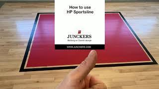 How to apply Jun¢kers HP Sportsline
