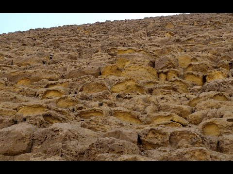 EROSION ON THE RED PYRAMID