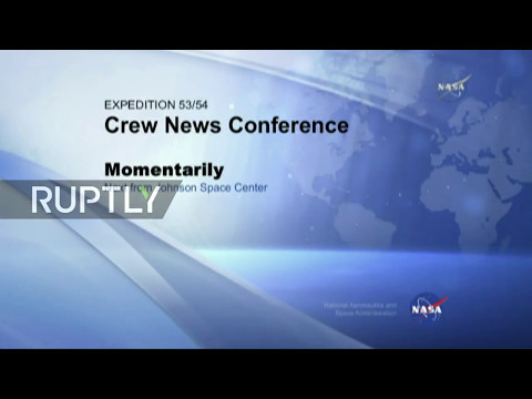 LIVE: Upcoming ISS crew holds pre-flight conference in Houston