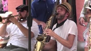 Smoking Time Jazz Club swinging on Royal St.