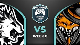 PCL 2019 - Europe PS4  - Week 8 - Flash Point vs Ehrenmanner