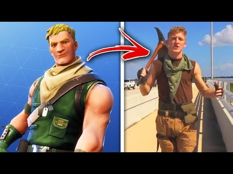 Fortnite Skins IN REAL LIFE! (tFue, Lachlan, DrLupo, TimTheTatMan)