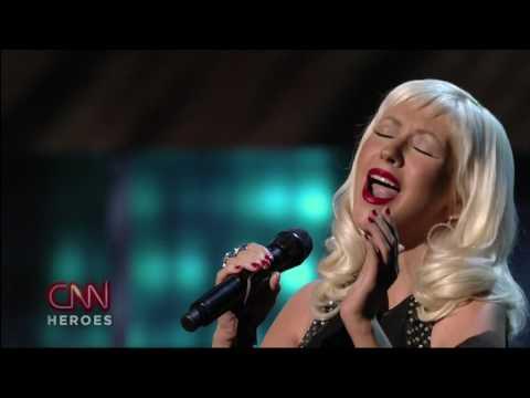 Christina Aguilera  Beautiful    En Vivo