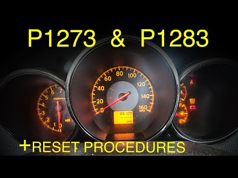 P1273 & P1283 Diagnostic Tips and Tricks + Reset Procedure by Aaron Hines