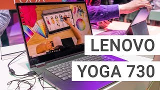 Lenovo Yoga 730 with Stylus & Alexa Hands On Review