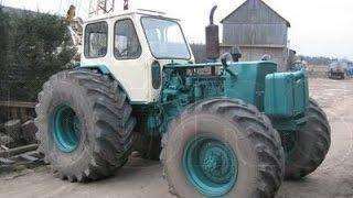 JUMZ 6 4x4 most GAZ 66(Установка моста от ГАЗ-66 на трактор ЮМЗ-6., 2015-02-21T20:19:42.000Z)