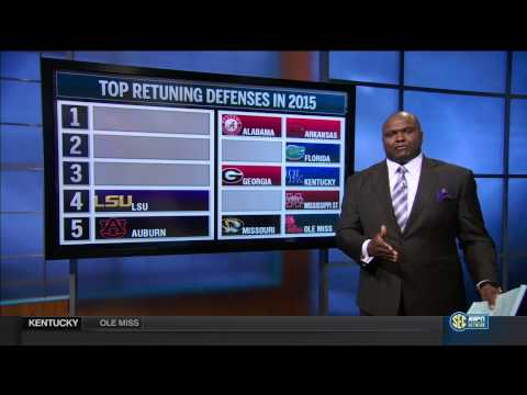 SEC Network Top Returning Defense of 2015