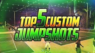 NBA 2K17 Best Custom Jumpshots - Green Lights