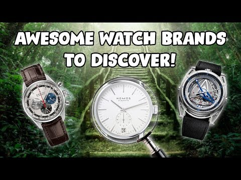 5 AWESOME Watch Brands You Should Pay Attention To !