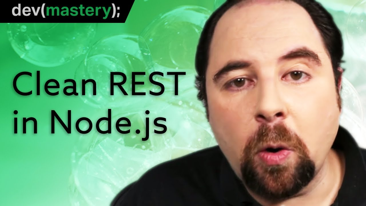 Designing a Clean REST API with Node.js (Express + Mongo)
