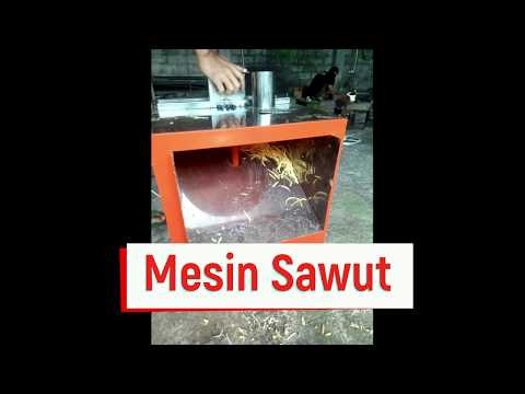 Mesin Sawut Singkong Ubi Jalar Kentang Ketela