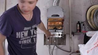 видео Почему не зажигается газовая колонка (проще простого)