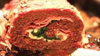 Rollo de carne molida NAVIDEñO | Bellisssimaa2TV