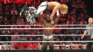 Apollo Crews vs. Tyler Breeze: Raw, April 4, 2016