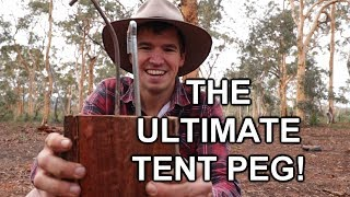 Never Bend Tent Pegs Again! - The Ultimate Tent Peg