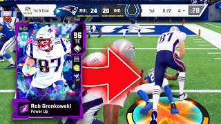 EA gave Rob Gronkowski his own ability...TANK MODE ACTIVATED! - Madden 20 Ultimate Team
