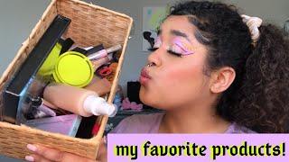 current beauty favorites! | milk makeup, lottie london, colourpop???