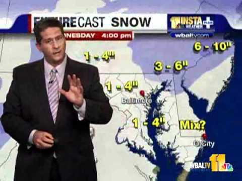 Tonys Forecast How Much Snow