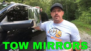 TOW MIRRORS - What you need to get the job done!