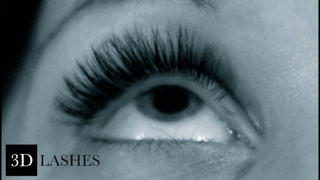 0d61931bf1c 3D lashes & Volume lashes Eyelash extension technique - YouTube