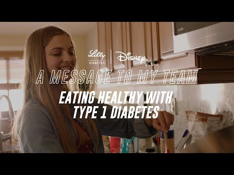 A Message to My Team: Eating Healthy with Type 1 Diabetes