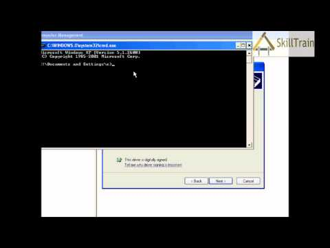 Learning to install the LAN Driver in Windows XP (Hindi) (हिन्दी)