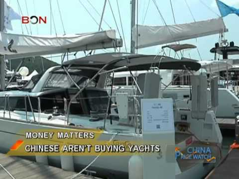 Yachts sell poorly in China- China Price Watch - July 18, 2013 - BONTV China