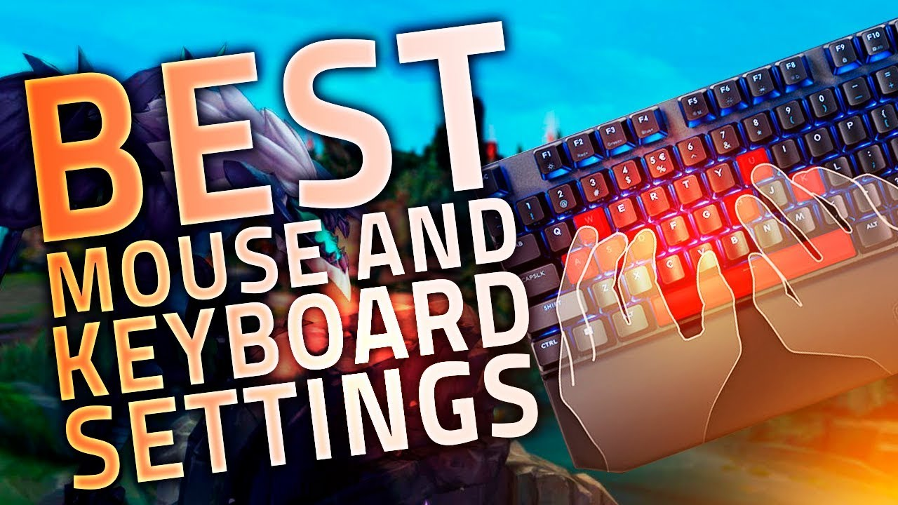 BEST KEYBOARD & MOUSE SETTINGS FOR LEAGUE OF LEGENDS | FT  COOLERMASTER |  LOL PROS PERIPHERALS SETUP