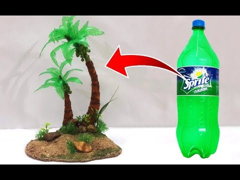 Easy best out of waste recycled craft ideas diy coconut for Model on best out of waste