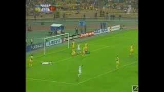 Украина - Турция 0:1. Отбор ЧМ-2006(обзор 1-го тайма + гол ).