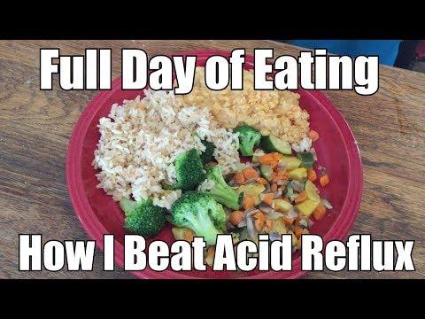 How I Beat GERD/Acid Reflux Episode 1: What I Eat!