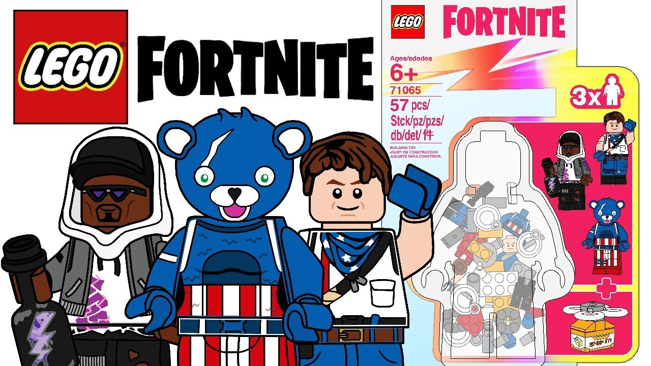 LEGO Fortnite Minifigures Set - CMF Draft! - YouTube