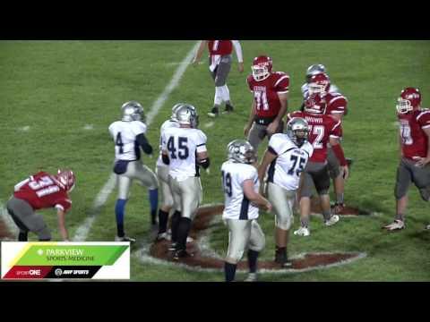 Highlights: VanBrocklin 124 rush yds 2TDs