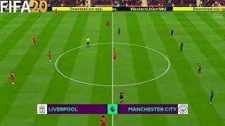 FIFA 20 | Liverpool vs Manchester City - Premier League 19/20 Season - Full Match & Gameplay