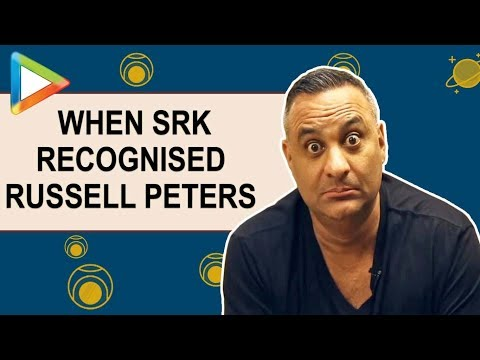 Russell Peters On Shah Rukh Khan Recognising Him   Quirky Confessions