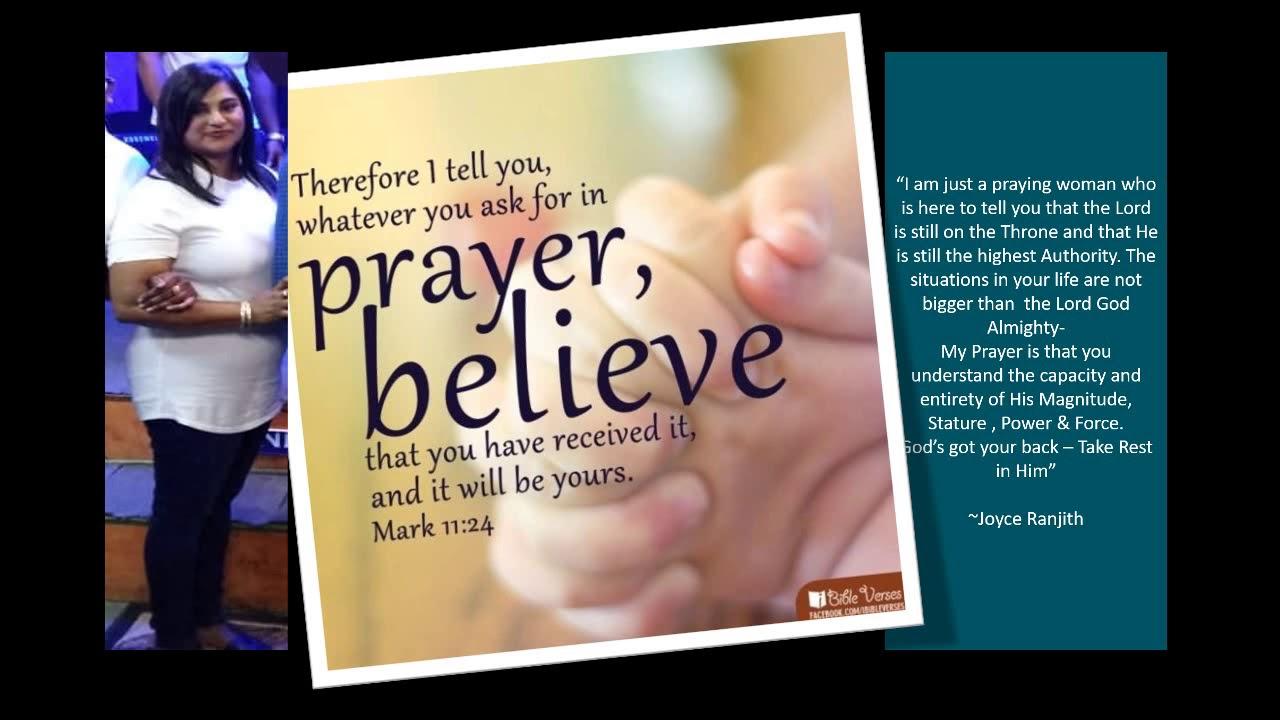 Prayer for SA