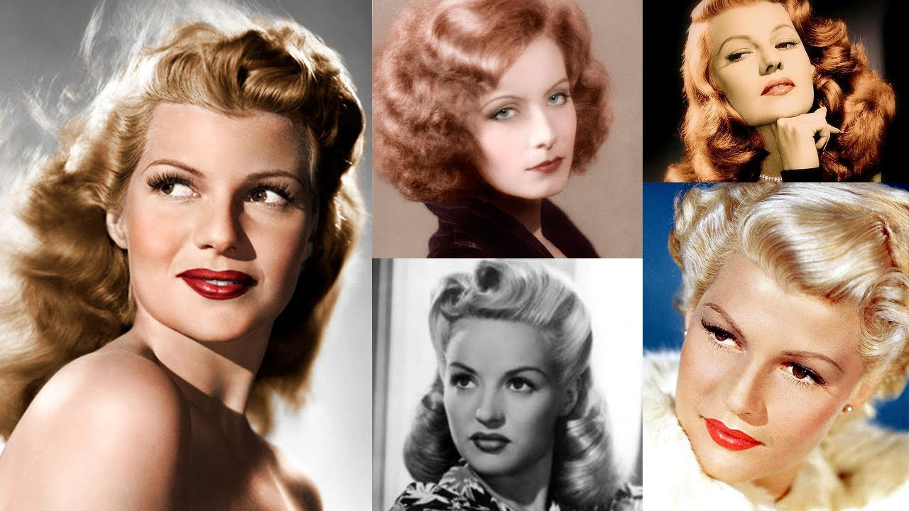 Historically Accurate: 1940s Makeup Tutorial  YouTube - 1930S Hairstyles