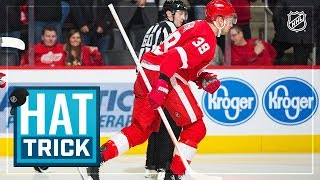 Anthony mantha records first career hatty in 6-3 victory