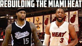 NBA 2K16 MyLeague: Rebuilding The Miami Heat! | Huge Demarcus Cousins Trade!