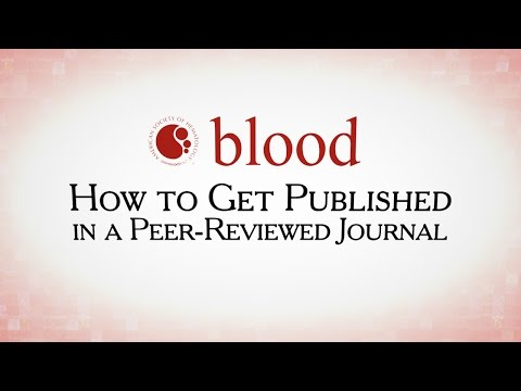 How to Get Published in a Peer-Review Journal: Q & A