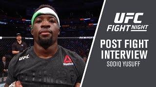 """UFC Philadelphia: Sodiq Yusuff - """"I Train For Wars"""""""