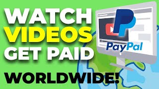 Get Paid To Watch Videos - Fast and Easy PayPal Money 2020