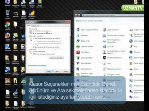 Windows 7 Klasör Ayarları Nasıl Yapılır | Gelarabul.com