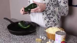 Roasted Poblano Cheese Sauce Recipe