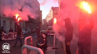 Marseille : manif contre la Loi Travail et ouverture d'un nouveau lieu - 29/10/16