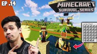 Best Iron Farm  | Minecraft Survival Series Episode 14