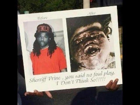 Kendrick Johnson Body Stuffed With Newspaper Internal