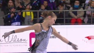 Александра Трусова Короткая программа Женщины Чемпионат России по фигурному катанию