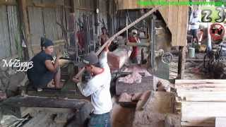 Log Saw Mill Wood Working Vertical Bandsaw