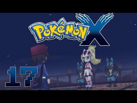 Let's Play Pokemon X Part 17 Mega Lucario & Mega Ring - Gameplay Walkthrough